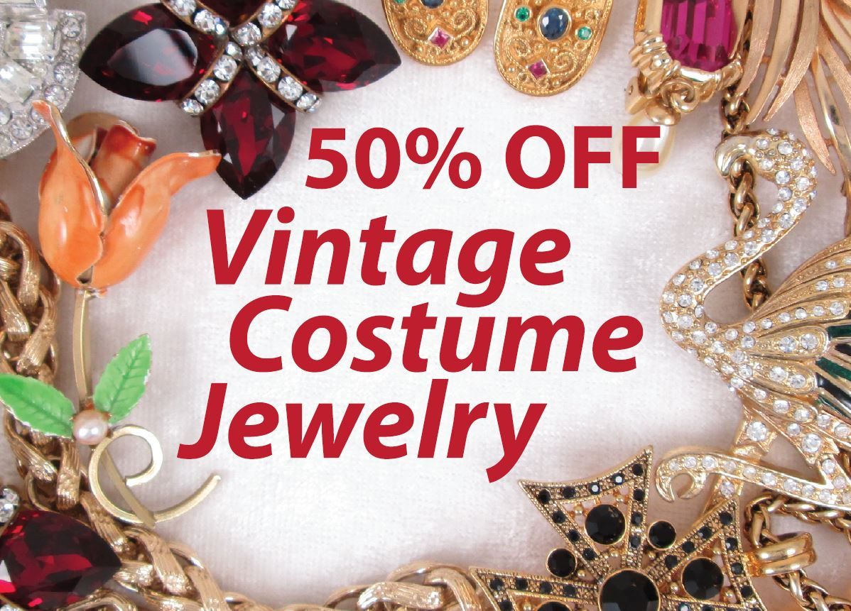 50 Off Costume Jewelry Feb 2018 The Cutter Gallery