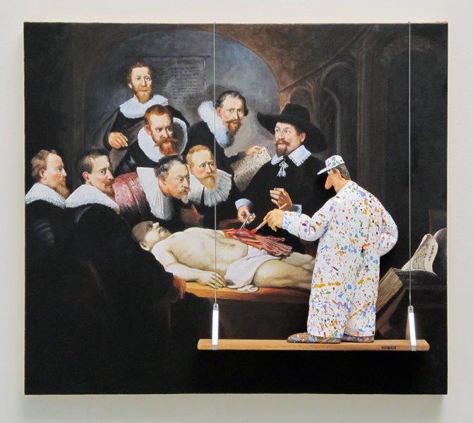 """Stephen Hansen """"Anatomy Lesson"""""""