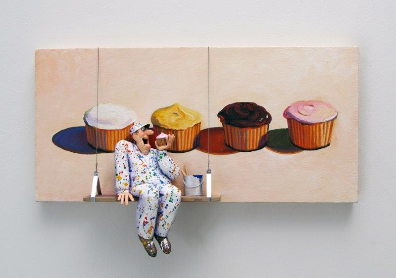 "Stephen Hansen ""Four Cupcakes"""