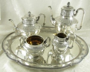 Wilkens & Sohne Silver 5 Piece Coffee/Tea Service