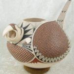 Mata Ortiz Lorenzo Elias Peña Pacheco Bird Pot