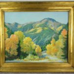 "Joseph H. Sharp Painting ""Red River"""