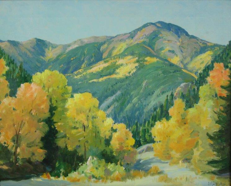 "Joseph H. Sharp Painting ""Red River"""