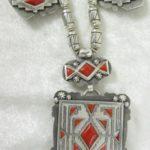 White Buffalo Reversible Necklace