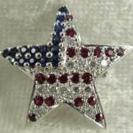 U.S. Flag Brooch Pin