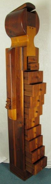 Pamela Weir Quiton Sculptural Doll Dresser / Chest