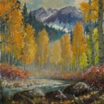 "Ben Turner Painting ""Colorado Aspen"""