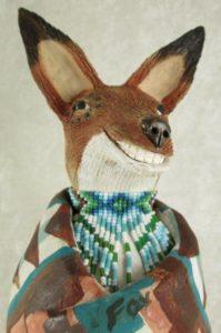 Susi Nagoda Bergquist Fox Figurine
