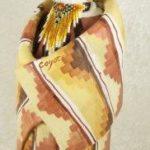 Susi Bergquist Coyote Figurine