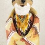 Susi Bergquist Coyote Figurine