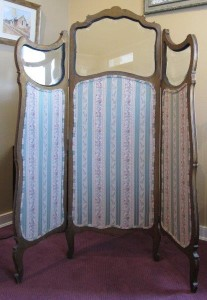 French 3 Panel Folding Screen