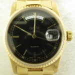 Geneve 18K Gold Watch