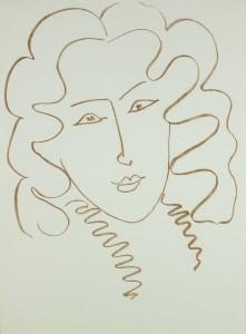 """Henri Matisse """"Florilege des Amours"""""""