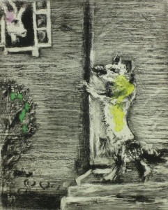 Marc Chagall Etching Les Fables De Fontaine