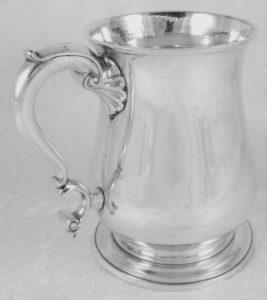 1747 Thomas Whipham Sterling Tankard