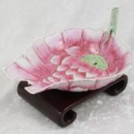 Chinese Porcelain Lotus Flower Water Dropper