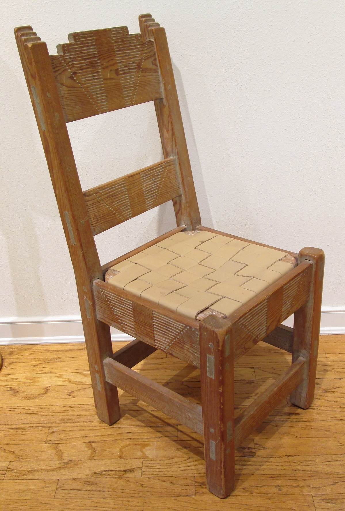 New Mexico WPA Era Chair