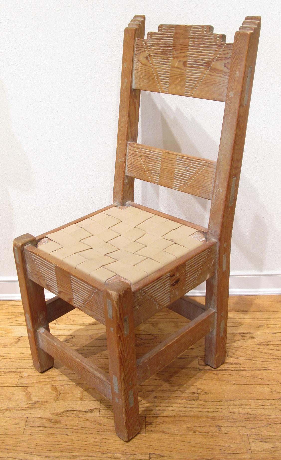 New Mexico WPA Era Chair