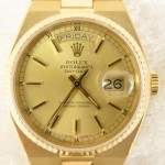 Mens 18K Gold Rolex Oyster Day Date