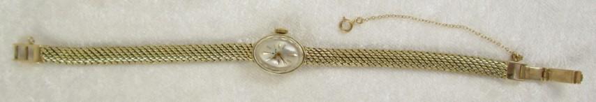 Ladies 14K Yellow Gold Rolex Watch