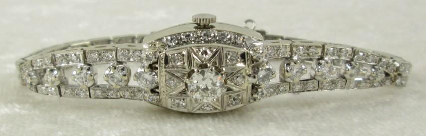 Ladies Hamilton Diamond Watch