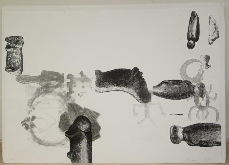 Lynda Benglis Print