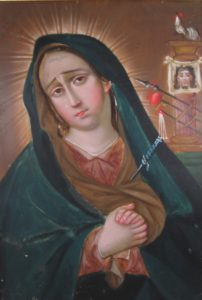 Retablo - Our Lady of Sorrows