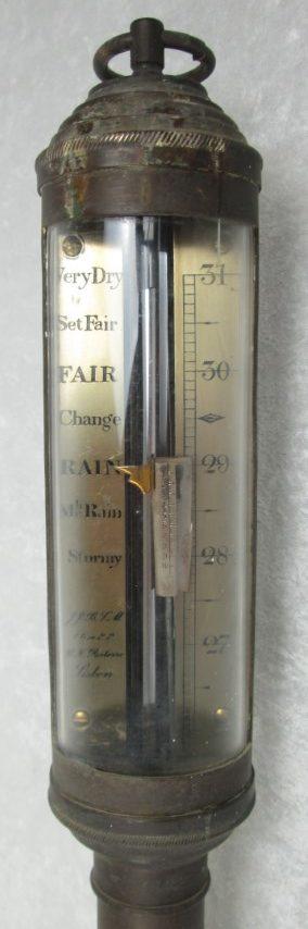 R.N. Desterro Brass Ship Barometer