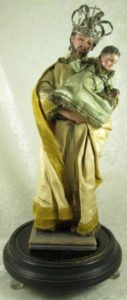 St. Joseph and Christ Child Figurine