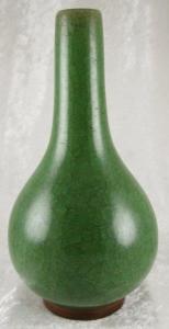 Green Japanese Vase