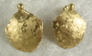 Jo-An Smith Gold Earrings
