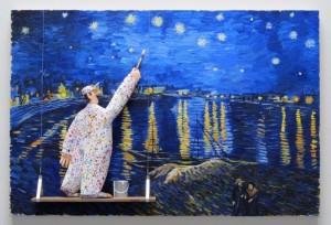 "Stephen Hansen ""Starry Night Rhone"""