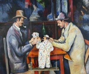 Stephen Hansen The Card Players