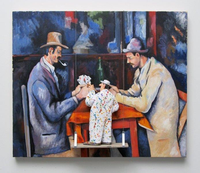 card players - Stephen Hansen