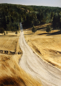 """Mountain Road (Cloudcroft)"" Robert Highsmith"