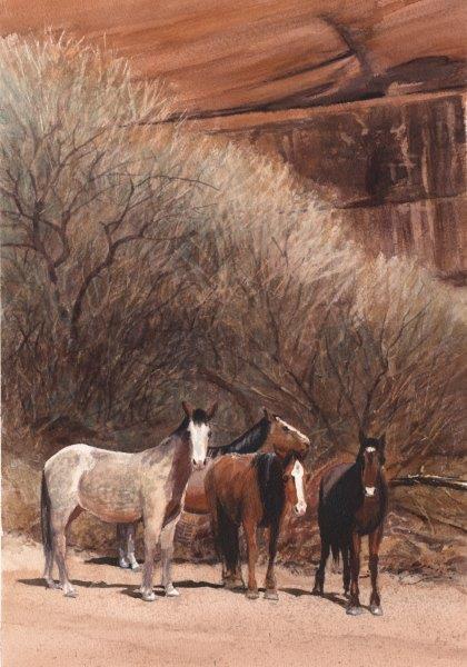 """Robert Highsmith """"rez ponies"""""""